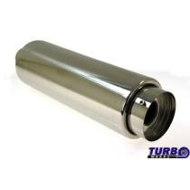 "Sport kipufogó dob TurboWorks XTM-23 2,5"" 63mm"